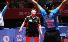 Bóng bàn: Mỹ Trang thua đau