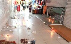 Tiểu thương chợ mới Đà Lạtbãi thị vì... rác, nước bẩn