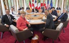 G-7 phản đối Trung Quốc xây đảo nhân tạo