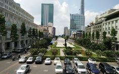 Lắp 160 băng ghế tại quảng trường Nguyễn Huệ