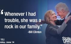 Cựu tổng thống Mỹ Bill Clinton trải lòng về hôn nhân