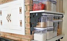 6 ý tưởng cất trữ đồ cho căn bếp chật hẹp