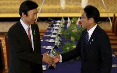Ngoại trưởng Hàn Quốc lần đầu đến Nhật họp kín