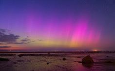 Cực quang kỳ ảo sau bão mặt trời