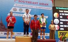 Lực sĩ Thắm đoạt HCV Đông Nam Á