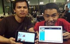Sinh viên làm phần mềm tiện ích