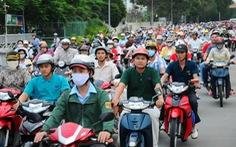 Q.9 tạm dừng thu phí sử dụng đường bộ đối với xe máy