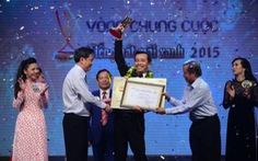 Lần thứ 5 đi thi, Đinh Văn Long đăng quang Tiếng hát mãi xanh