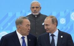 Ấn Độ, Pakistan gia nhậpnhóm hợp tác an ninh Á - Âu