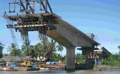 Xây dựng cầu Đại Ngãi nối Trà Vinh và Sóc Trăng