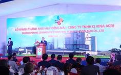 CJ Vina Agri khánh thành nhà máy sản xuất thức ăn chăn nuôi thứ tư
