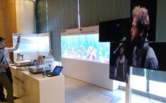 Sony triển lãm nhiều thiết bị chuyên dụng tại TP.HCM
