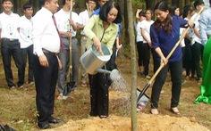 Trồng 1 triệu cây xanh cho Việt Nam