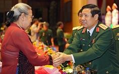 Đại tướng Phùng Quang Thanh dự chương trình truyền hình trực tiếp