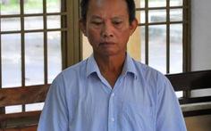 Vòi tiền doanh nghiệp, Chi cục trưởng thi hành án dân sự lãnh án