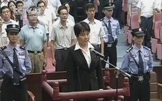 Quan tòa xử vợ Bạc Hi Lai chết bất thường
