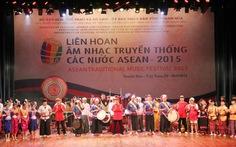 Thanh Hóa: Liên hoan âm nhạc truyền thống các nước ASEAN 2015