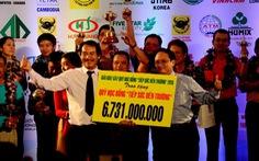 """6,731 tỉ đồng cho Giải golf gây quỹ """"Tiếp sức đến trường"""""""