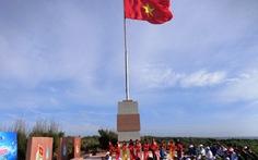 Khánh thành cột cờ chủ quyền Tổ quốc tại Phú Quý