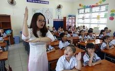 Học sinh tiểu học dùng tối đa 5 quyển vở