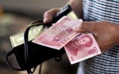 Trung Quốc tăng nhẹ giá đồng nhân dân tệ