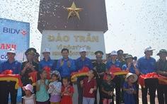 Khánh thành cột cờ chủ quyền trên đảo Trần