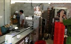 Bắt quả tang cơ sở làm giả kem Tràng Tiền tại Nghệ An