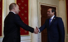 Tổng thống Nga và Ai Cập bàn kế hoạch chống khủng bố