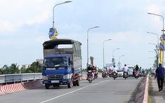 Cần Thơ: cấm xe lớn qua cầu Quang Trung vì nhiều tai nạn