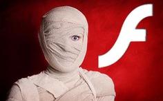 Flash bị bức tử từ 1-9, quảng cáo méo mặt
