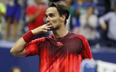 Thua ngượcFognini, Nadal chia tay Giải Mỹ mở rộng 2015