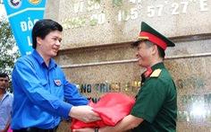 Khánh thành cột cờ chủ quyền tại đảo Mắt