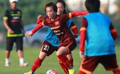 Đội tuyển nữ VN đi Myanmar dự vòng loại Olympic 2016