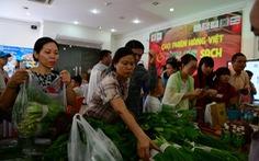 Chợ phiên nông sản cho tiểu thương