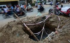 Phạt 27 nhà thầu đào đường bê bối 156 triệu đồng