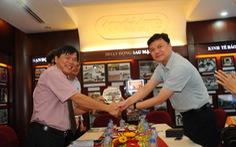 Đoàn đại biểu Đoàn TNCS Trung Quốc TP Thượng Hải thăm báo Tuổi Trẻ