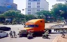 Nạn nhân bị xe container tông kinh hoàng đã qua cơn nguy kịch