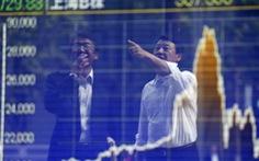 Chứng khoán châu Á lại lao đao vì kinh tế Trung Quốc