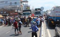 Người dân gây tắc nghẽn quốc lộ 1 để phản đối dự án