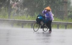 Miền Bắc tiếp tục mưa to trong ngày Quốc khánh