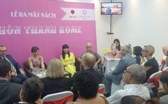 """Nhiều đại sứ dự buổi ra mắt sách """"Nụ hôn thành Rome"""""""