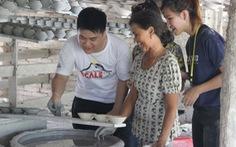 Sinh viên tìm giải pháp phát triển làng nghề