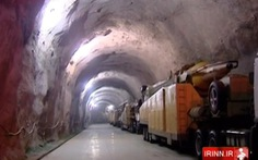 Iran công khai video căn cứ tên lửa ngầm đáng sợ