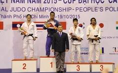 VN dẫn đầu giải Judo quốc tế TP.HCM 2015