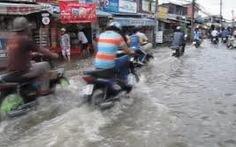 Vỡ cống thoát nước, gây xói mòn nền nhà dân