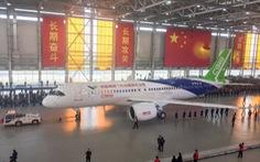 Trung Quốc công bố máy bay thương mại đầu tiên tự sản xuất