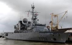 Tuần dương hạm Hải quân Pháp đến Đà Nẵng