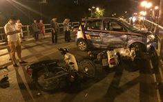 Triệu tập tài xế xe bán tải rượt đuổi taxi trong vụ tai nạn