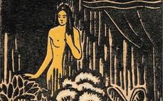 Xem họa sĩ Việt Nam vẽ nàng Kiều