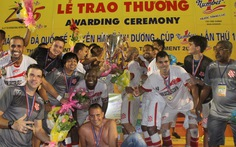 CLB Bangu Atletico vô địch BTV Cup 2015